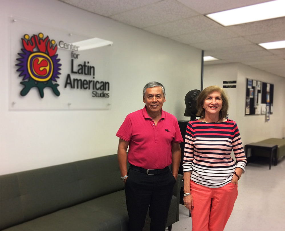 Visiting Scholar, Dr. Miguel Ayarza