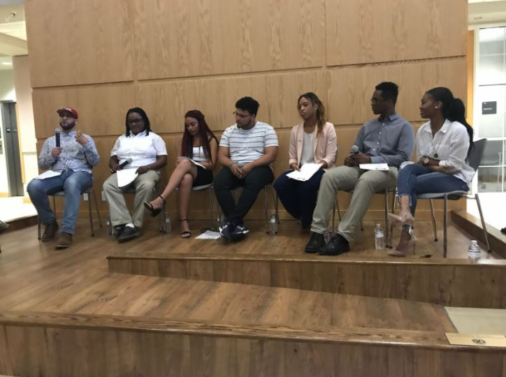 UF held its first Afro-Latinx panel about navigating the world while being black and Latino