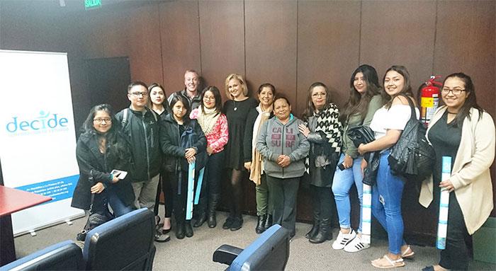 Maja Jeranko Returns to Quito, Ecuador to Continue Work on Gender Based Violence