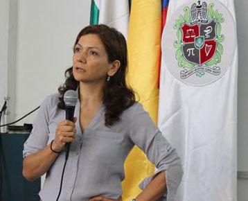 Dr. Pilar Useche en la Universidad Nacional de Colombia, Medellin